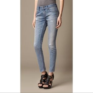 Burberry Westbourne Skinny Ankle Jeans